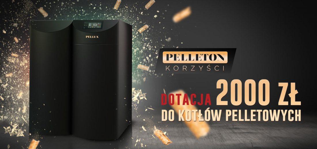 Pelleton korzyści Pellux - Dotacja 2000 zł.